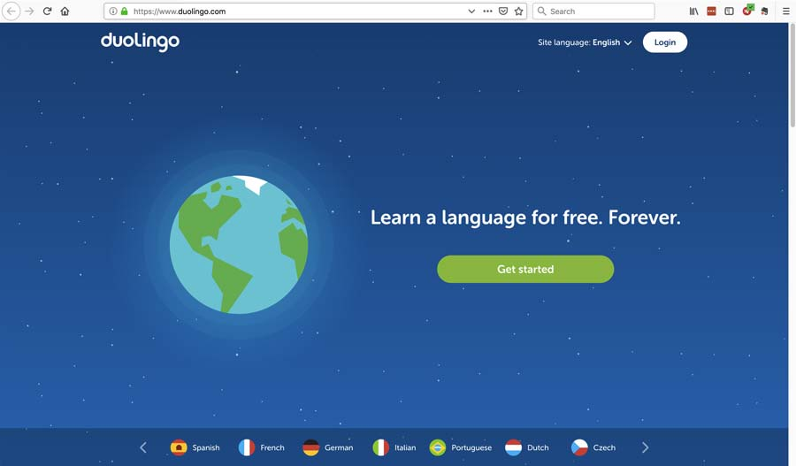 User experience design in the real world: the language learning website Duolingo.